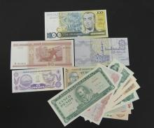 Group of 14 Pieces Paper Money