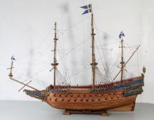 Man of War Modeling Ship