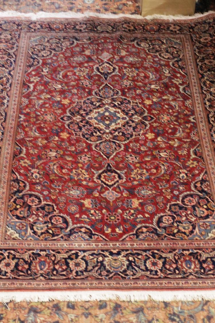 Kashan Semi Anti Glue Rug