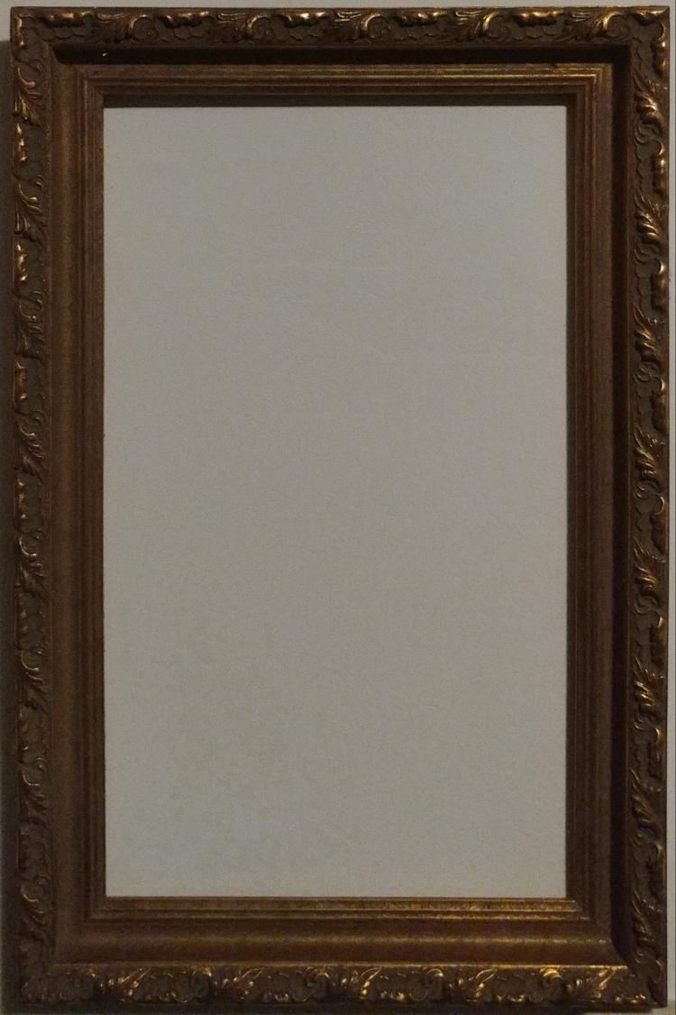 gold leaf gilt wood frame 20 x 12. Black Bedroom Furniture Sets. Home Design Ideas