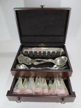 Never used Reed & Barton sterling 65 pcs flatware