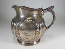 Antique English sterling jug, Birmingham