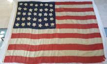 Civil War Era 35 Star American Folk Flag