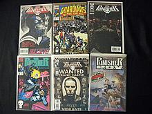 Lot of 6 The Punisher Comic Books