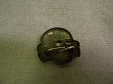 German Nazi Waffen SS Skull Pin