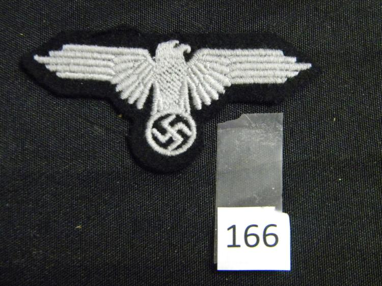 Antique German Nazi Eagle and Swastika Patch