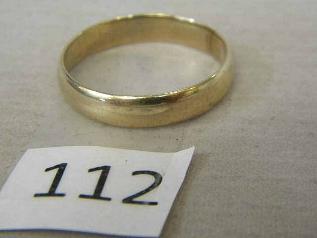 Gold Band Size 12