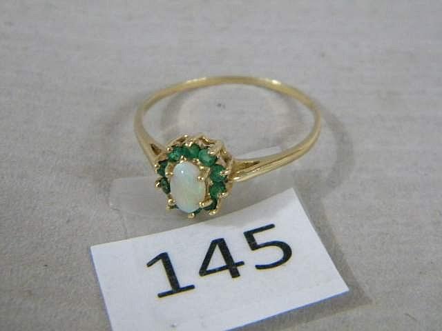 10K Gold Ladies Ring Size 10