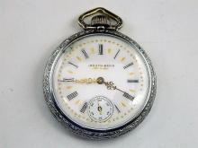South Bend Pocket Watch 17j, c1902, Double Roller