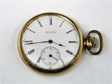 Elgin National Watch Co Pocket Watch With B&B Case c. 1912