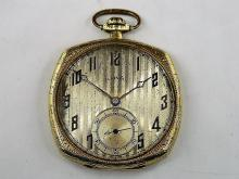 1923 Illinois 17J Pocket Watch 14K Warranted