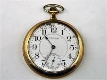 c. 1906 Waltham Model 1899 21 Jewel Openface Pocket Watch
