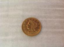 1906 $2 1/2 Gold Piece