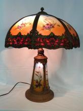 Handel Style Lighted Base Lamp