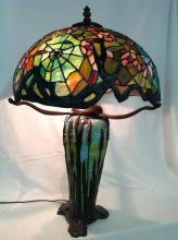 Tiffany Style Cobwebb Mosaic Lamp