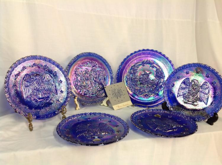 Lot of 6 Fenton Bicentennial Plates