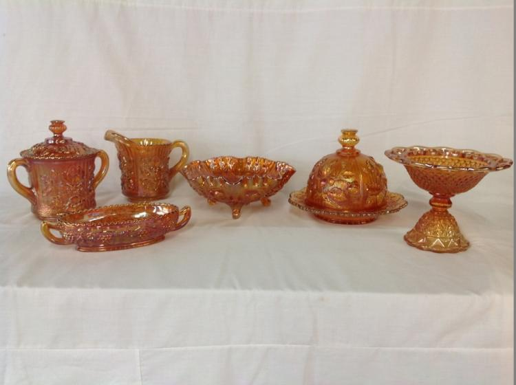 Imperial Glass Amber 6 Pcs