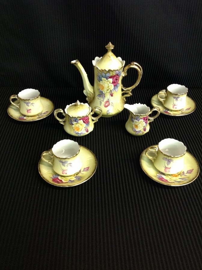 Hand Painted Nippon Coffee Set