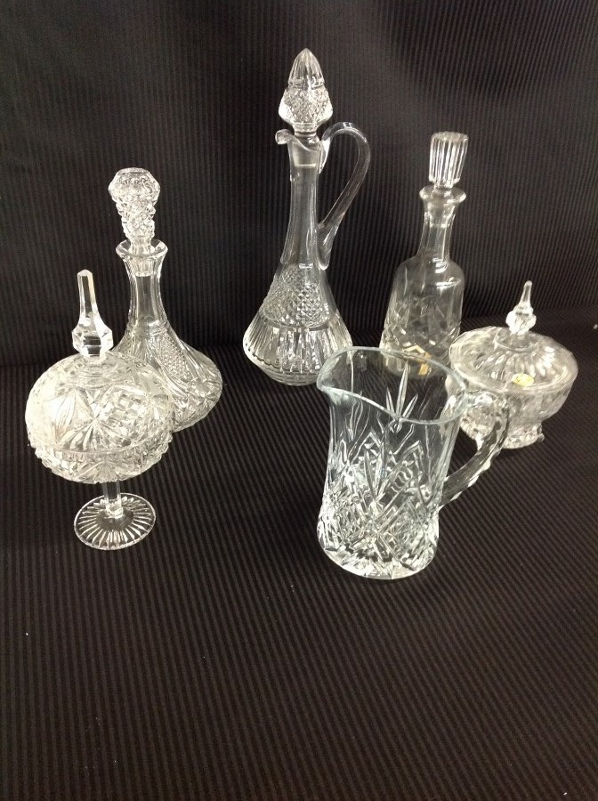 Assorted 24% Lead Crystal-Made in Germany