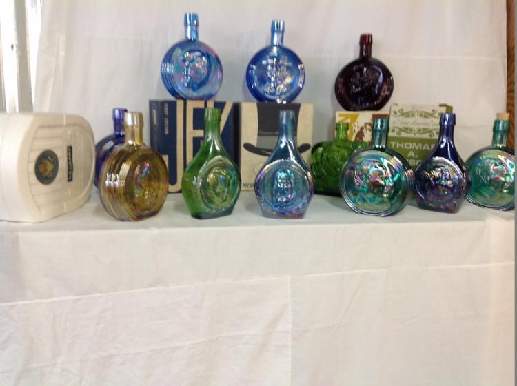 Wheaton Bottles - lot of 11