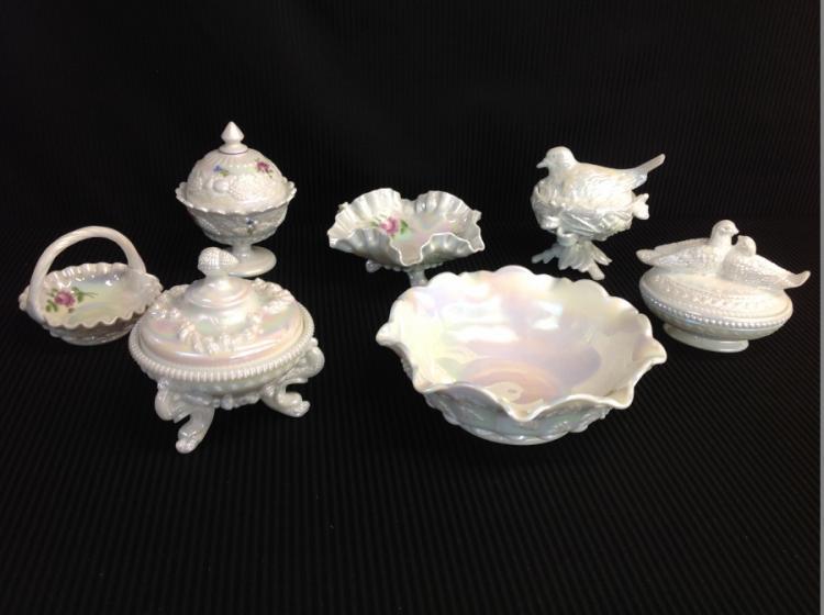 Assorted Westmoreland Glassware