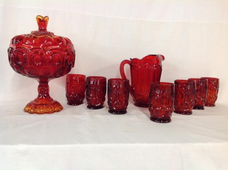 Smith Water Set & Large Candy Dish