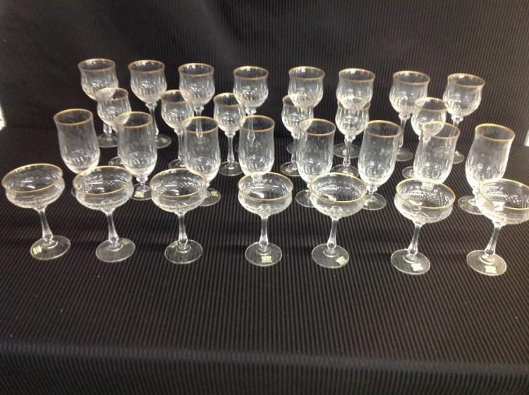Mikasa Crystal Wine Glasses & Goblets