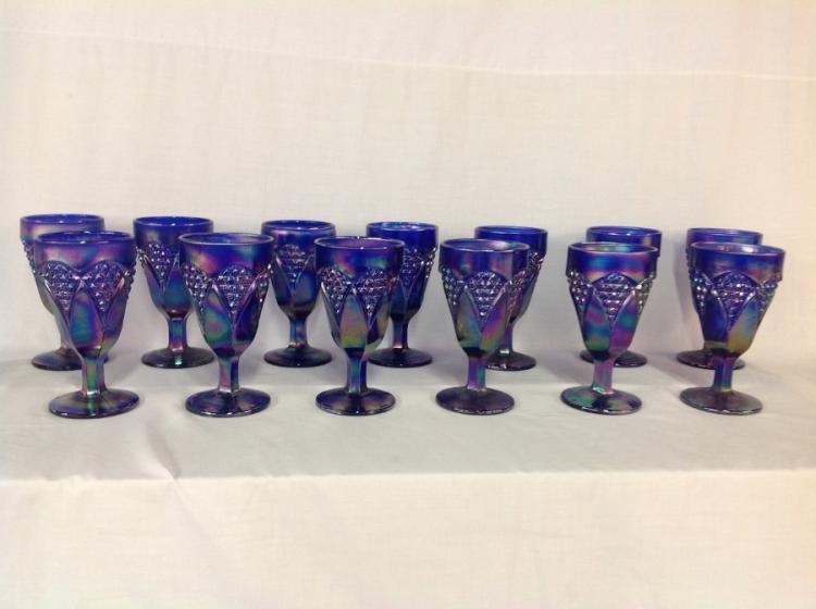 IG Colbalt Blue Goblets