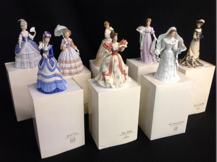 Lenox American Fashion Figurine Collection - Set of 8