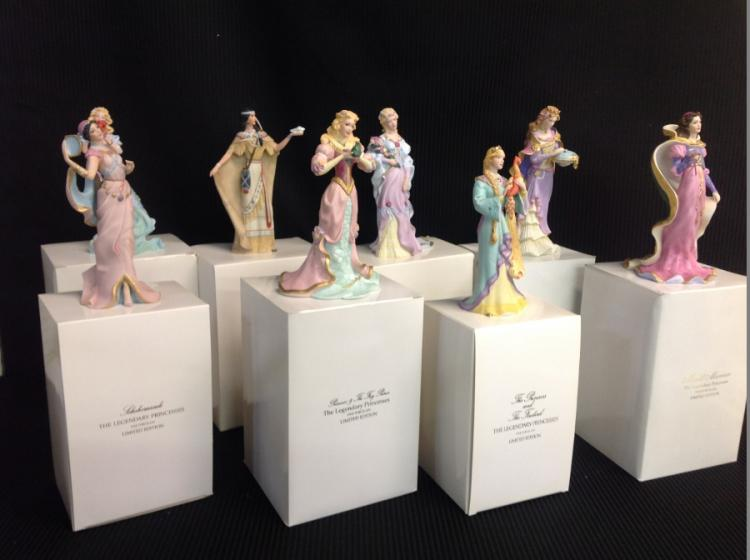 Lenox Legendary Princess Limited Edition Figurines