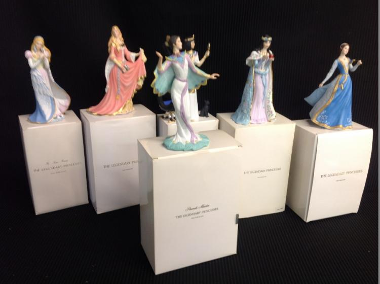 Lenox Legendary Princess Figurines