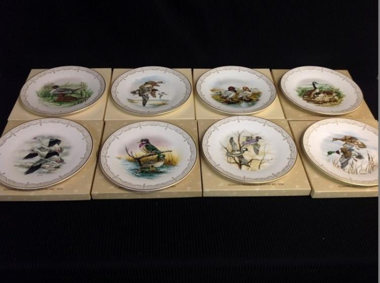Boehm Bone Porcelain Plates Limited Edition