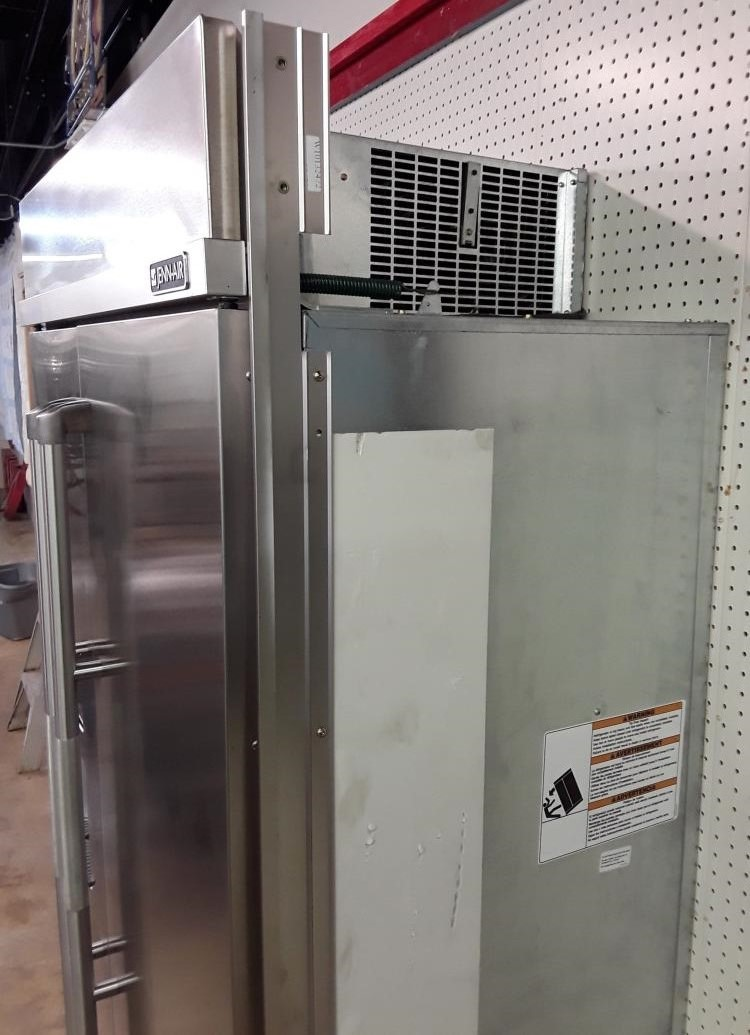 Jenn air commercial grade side by side refrigerator - Commercial grade kitchen appliances ...