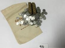 LOT OF 300 90% SILVER ROOSEVELT DIMES
