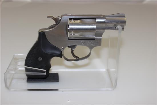 SMITH & WESSON MODEL 60-7 .38 SPECIAL CALIBER REVOLVER SN: CAE0308