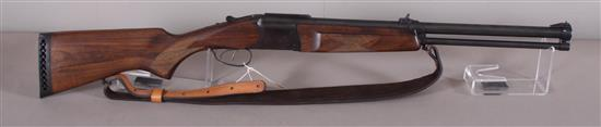 REMINGTON MODEL IZH94/BAIKAL 12 GAUGE/223 REM SHOTGUN/RIFLE SN: 089414183R, INCLUDING LEATHER SLING