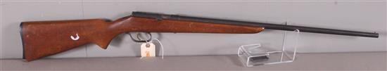RANGER MODEL 103-8 .22 CALIBER RIFLE SN: NONE, MISSING BOLT AND BROKEN BUTT PLATE, SLIGHT RUST