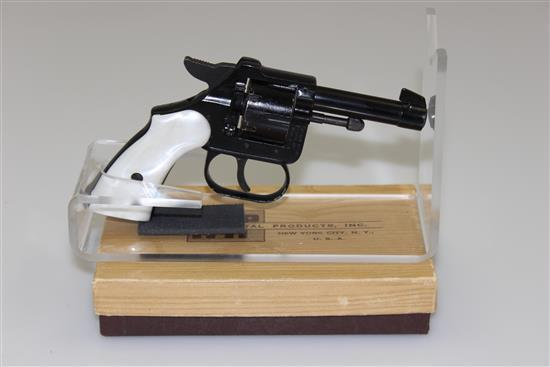 IMPERIAL METAL PRODUCTS IMP MODEL .22 SHORT CALIBER REVOLVER SN: 50273, INCLUDING ORIGINAL BOX