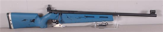 MARLIN MODEL 2000 .22LR CALIBER BOLT RIFLE SN: 08576058, LYMAN OLYMPIC SIGHTS MISSING REAR GLOBE
