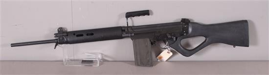 IMBEL MODEL L1A1 SPORTER .308 CALIBER SEMI-AUTO RIFLE SN: 06112865