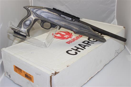 RUGER MODEL 22 CHARGER .22 LR CALIBER SEMI-AUTO PISTOL SN: 490-00646, INCLUDING 2 MAGAZINES AND ORIGINAL BOX