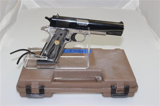 COLT MODEL EL CABALLERO .38 SUPER CALIBER SEMI-AUTO PISTOL SN: ECB145, INCLUDING ORIGINAL BOX
