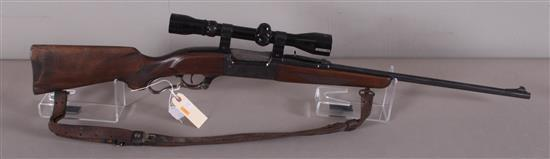 SAVAGE MODEL 99 .308 WIN CALIBER LEVER RIFLE SN: 953400, INCLUDING RED FIELD SCOPE, WATER DAMAGE TO BUTT STOCK