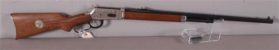 WINCHESTER MODEL 94 .30-30 CALIBER LEVER RIFLE SN: TR45017, THEODORE ROOSEVELT COMMENTRATIVE
