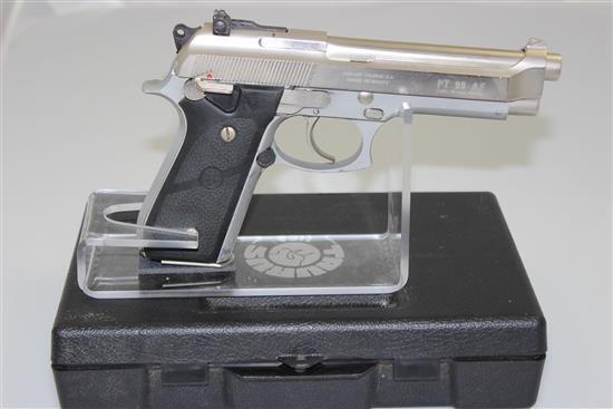 TAURUS MODEL PT99AF 9MM CALIBER PISTOL SN: TJH53204, INCLUDING ORIGINAL BOX