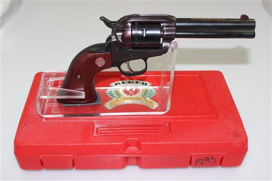 RUGER MODEL NEW MODEL SINGLE-SIX .22 LR CALIBER REVOLVER SN: 268-39583, INCLUDING ORIGINAL BOX
