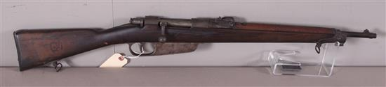 MANLICHER MODEL 1916 7 MM CALIBER BOLT RIFLE SN: AA995