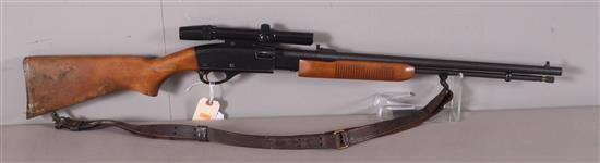 REMINGTON MODEL 572 .22 LR CALIBER PUMP RIFLE SN: A1794780, INCLUDING BUSHNELL SCOPE AND SLING