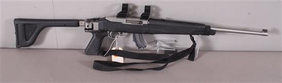 RUGER MODEL 10/22 .22 LR CALIBER SEMI-AUTO RIFLE SN: 239-32949, INCLUDING SCOPE MOUNTS AND SLING