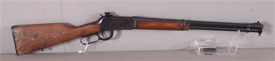 WINCHESTER MODEL 94 30-30 CALIBER LEVER RIFLE SN: 4341398, INCLUDING WILLIAMS RECEIVER SIGHT, WATER DAMAGE TO STOCK